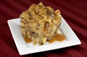 Post image for Caramelized Apple Bread Pudding