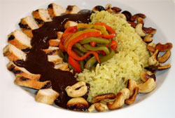 Post image for Classic Mexican Mole (with Grilled Chicken and Cashews)