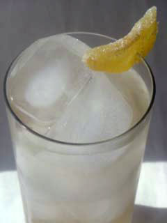 Post image for Fizzy Ginger Virgin Cocktail