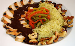 Thumbnail image for Classic Mexican Mole (with Grilled Chicken and Cashews)
