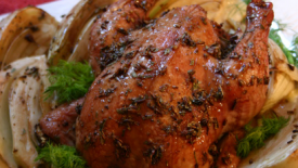 Thumbnail image for Lavender & Honey Roasted Chicken