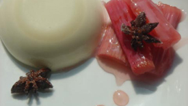 Thumbnail image for Anise Panna Cotta with Spiced Rhubarb