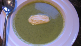 Thumbnail image for Asparagus & Spinach Soup with Yuzu