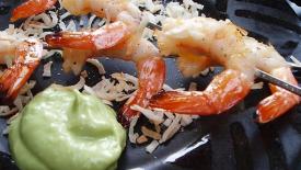 Thumbnail image for Avocado Crème Shrimp