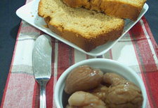 Thumbnail image for Chestnut Caramel Pound Cake