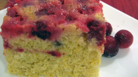 Thumbnail image for Upside-Down Cranberry Cornbread