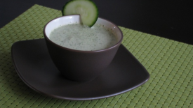 Thumbnail image for Chilled Cucumber Mint Soup