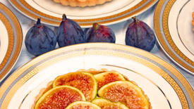 Thumbnail image for Fig Tart with Vanilla Crème Patissière