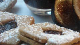 Thumbnail image for Hazelnut & Fig Linzer Cookies