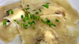 Thumbnail image for Lobster Ravioli with Vanilla Butter Sauce