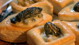 Thumbnail image for Morilles à la Crème (Morels in Cream Sauce)