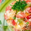 Thumbnail image for Tomato & Nectarine Timbale
