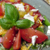 Thumbnail image for Summer Tomato Salad with Creamy Garlic Vinaigrette