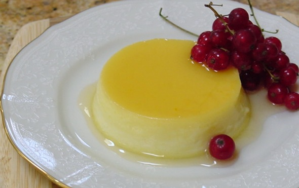 Post image for Apricot Ginger Flan