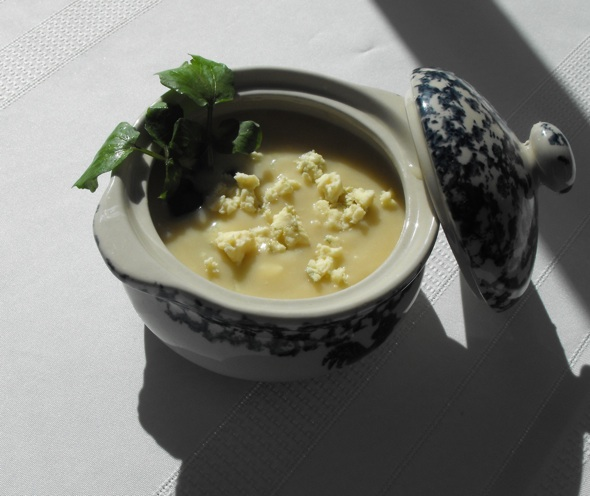 Post image for Silky Blue Cheese Soup