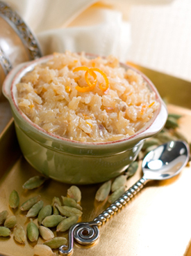 Post image for Cardamom Scented Rice Pudding