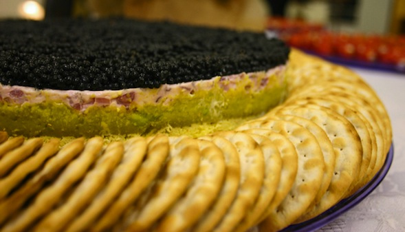 Post image for Multi-Layered Caviar Torte