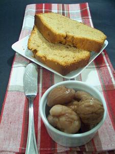 Post image for Chestnut Caramel Pound Cake