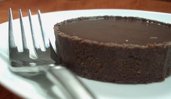 Post image for Chocolate and Caramel Tart with Port Ganache