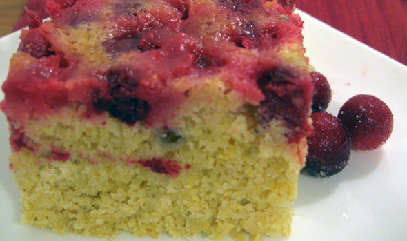 Post image for Upside-Down Cranberry Cornbread