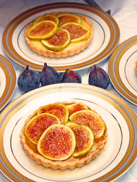 Post image for Fig Tart with Vanilla Crème Patissière