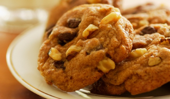 Post image for Garlic Brittle Cookies