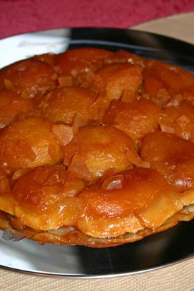 Post image for Gingered Peach Tarte Tatin