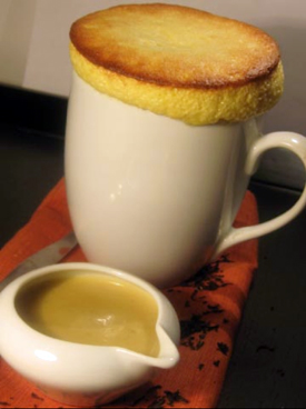 Post image for Honey Soufflé with Earl Gray Anglaise
