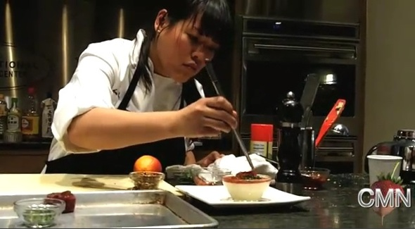 Post image for Quick Bites: Chef Lee Anne Wong Tofu Cooking Demo