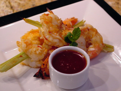 Post image for Grilled Lemongrass Shrimp with Sweet Chile Dipping Sauce
