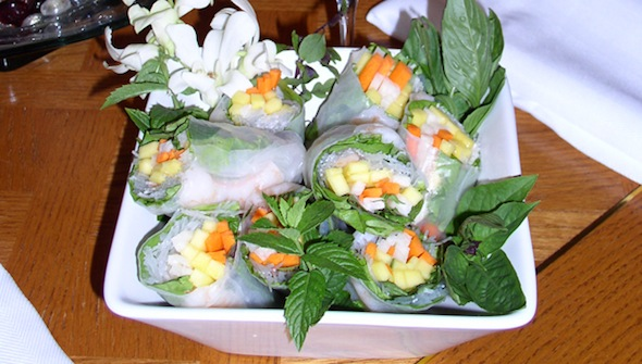 Post image for Lobster, Mango and Jicama Summer Rolls with Nuoc Cham Nem Dipping Sauce