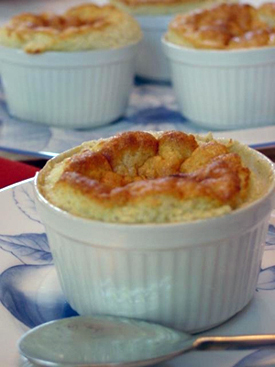 Post image for Pear Soufflé