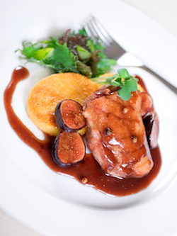 Post image for Seared Duck Breast with Figged Port Demi-Glace