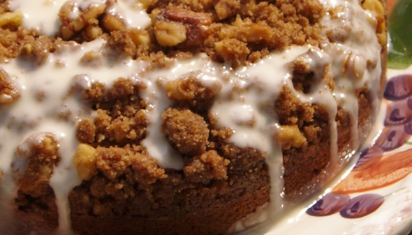 Post image for Pumpkin Streusel Cake
