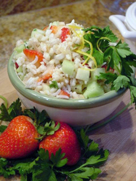 Post image for Aromatic Rice & Pearl Barley Salad