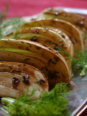 Post image for Roasted Fennel with Lavender & Honey Marinade