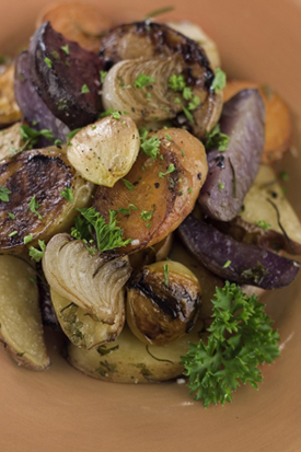 Post image for Rustic Balsamic-Roasted Root Vegetables