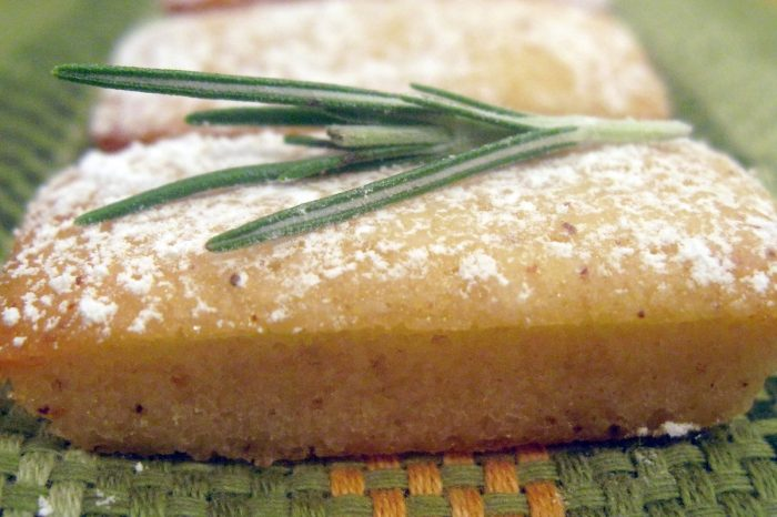 rosemary corn financiers