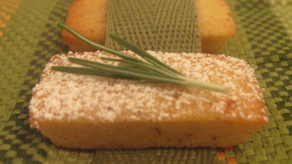 Post image for Rosemary Corn Financiers