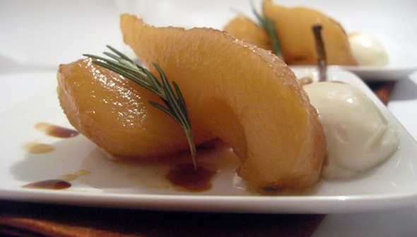 Post image for Rosemary & Honey Roasted Pears