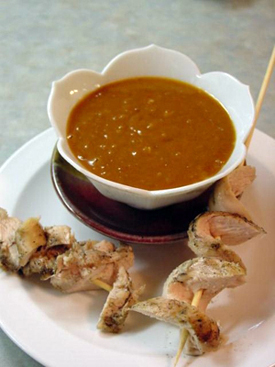 Post image for Spicy Satay Dip